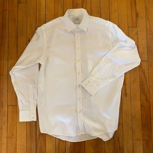 Charles Tyrwhitt Men's Woven Dress Shirt 17x37 👔